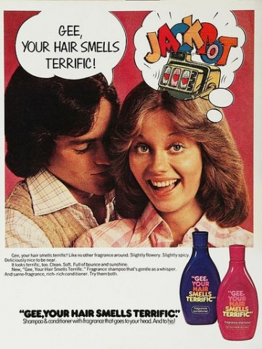 gee your hair smells terrific Shameless nostalgia   the 1970s with a Ravioli Smile