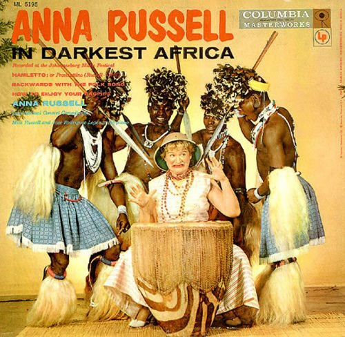 anna russel Terrible album covers   Vinyl horrors