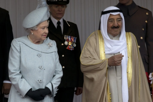 15228064 Amir of Kuwait state visit to UK: photos