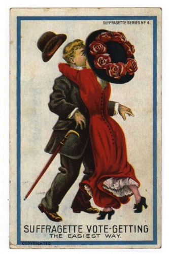 suffrage Pathetic and women hating postcards of the anti Suffragette movement