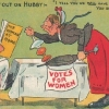 thumbs suffrage 10 Pathetic and women hating postcards of the anti Suffragette movement