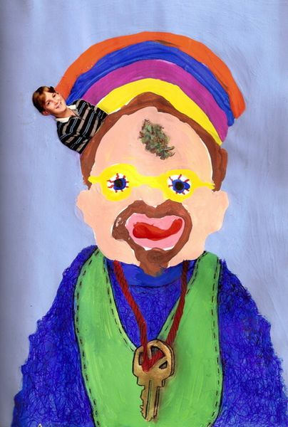 marijuana kind bud Artist Draws Self Portrait Under Influence Of Different Drugs: Fascinating Pictures