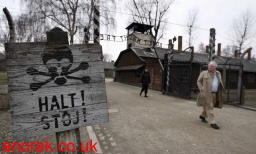 5557653 Auschwitz Birkenau   Then and now in photos