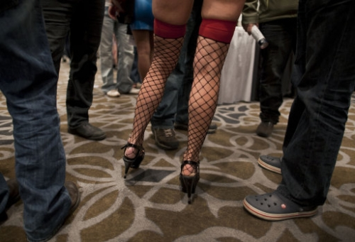 12533167 The Adult Video News Expo 2012   in photos