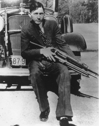 2489067 Bonnie Parker and Clyde Barrow