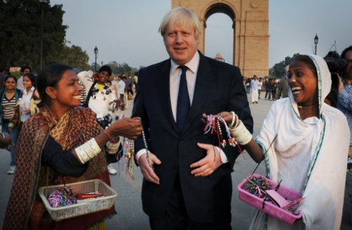 15210636 In photos: Boris Johnson visits India