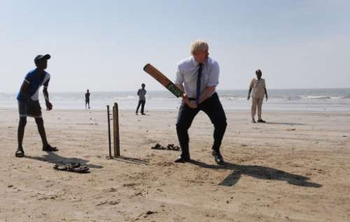 15251856 In photos: Boris Johnson visits India 