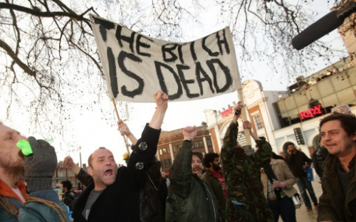 16218349 In photos: the anti woman Brixton Party to celebrate Margaret Thatchers death