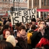 thumbs 16218372 In photos: the anti woman Brixton Party to celebrate Margaret Thatchers death