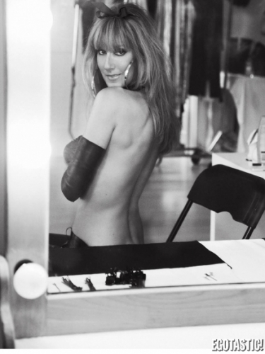 celine dion v magazine fall 2012 05 435x580 Celine Dion makes the kinky mouse look her own