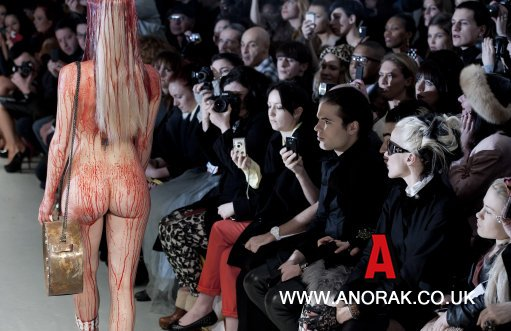 10233192 Charlie Le Mindus Naked Fashion Show For London Fashion Week: Photos For Lady GaGa