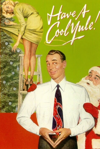 lounge xmas02 Epic vintage sexist Christmas adverts