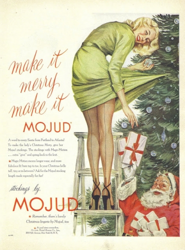 mojud xmas1 Epic vintage sexist Christmas adverts