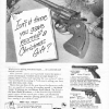 thumbs colt gun xmas2 Epic vintage sexist Christmas adverts