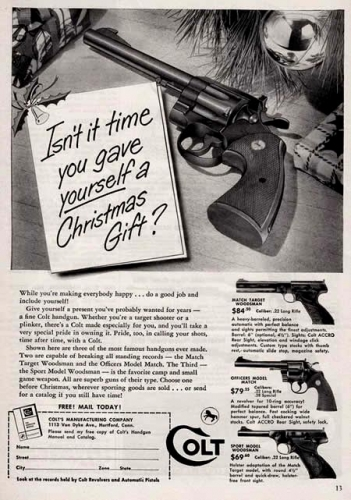 christmas gun 8 Christmas gifts: the gun