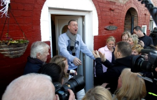 15306100 X Factor photos: Christopher Maloney heads to Norris Green, Liverpool