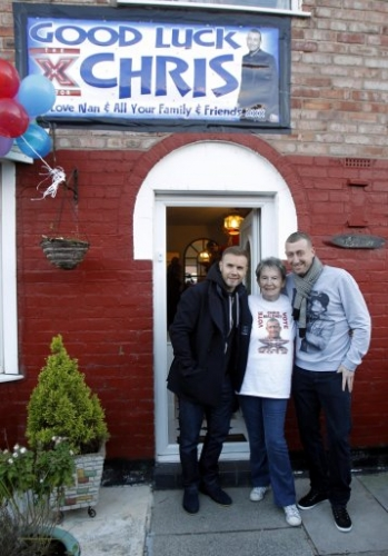 15306114 X Factor photos: Christopher Maloney heads to Norris Green, Liverpool