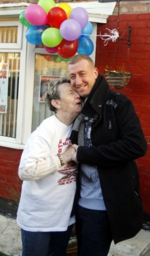 15306117 X Factor photos: Christopher Maloney heads to Norris Green, Liverpool