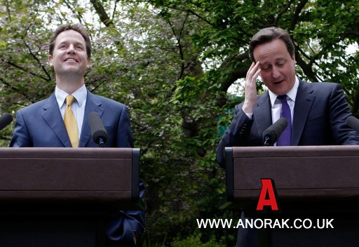 clegg and cameron relationship problems