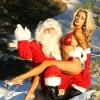 thumbs courtney stodden santa claus Courtney Stodden does Santa   literally (photos)