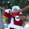 thumbs courtney stodden santa eats Courtney Stodden does Santa   literally (photos)