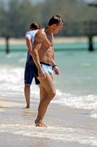 James Bond Daniel Craig Swimsuit