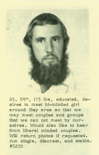 men of the 60s 02 Dating profiles from the 1960s