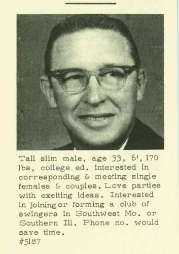 men of the 60s 04 Dating profiles from the 1960s
