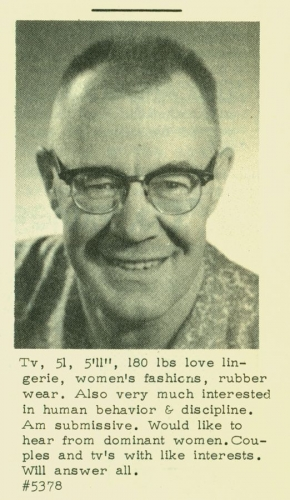 men of the 60s 05 Dating profiles from the 1960s