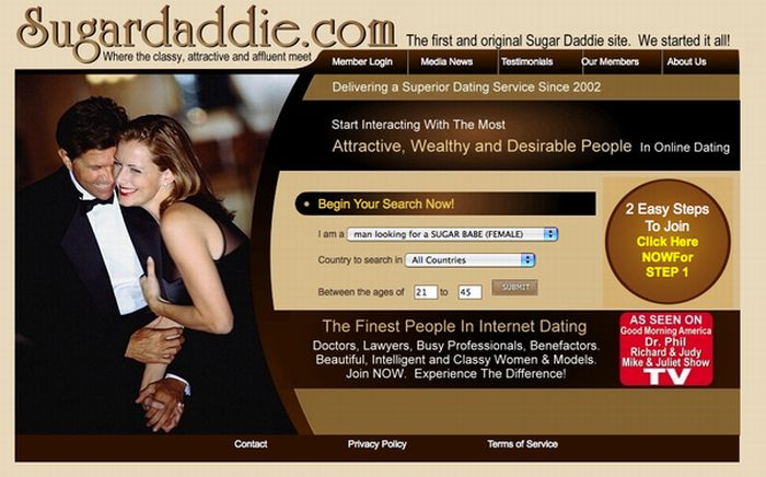 dating service for the rich
