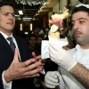 thumbs miliband cream Ed Miliband Steals David Milibands Ice Cream: A Gallery Of Extempore Eating