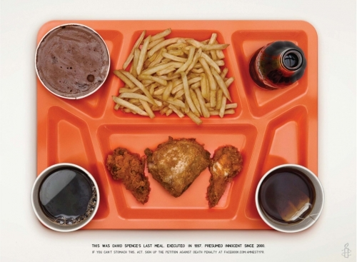 last meal 1 Death Row inmates last meals   these men were all innocent