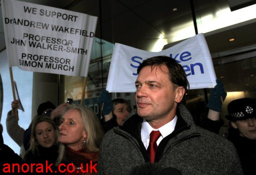 8280355 Dr Andrew Wakefield And MMR: The Making Of A Media Scare Story