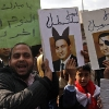 thumbs egypt signs ears Egypt: The Best Protest Signs (Mubarak: The Hitler Jew Rabbit)