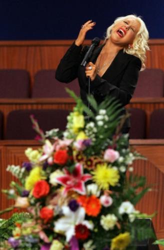 Anorak | Christina Agu... Christina Aguilera Obituary