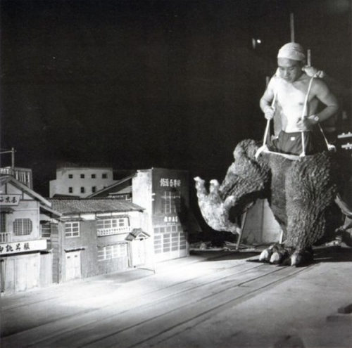 Image result for Godzilla set 1954