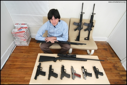 1 Photos from Armed America: Portraits of American Gun Owners in Their Homes
