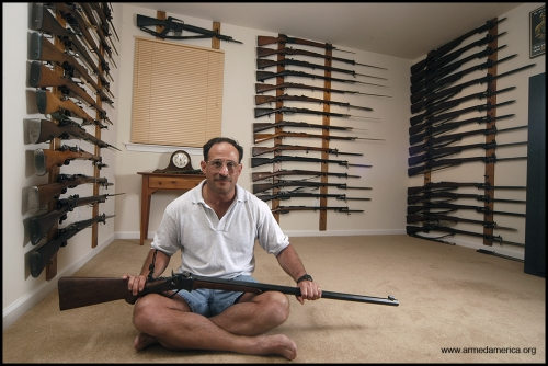 2 Photos from Armed America: Portraits of American Gun Owners in Their Homes