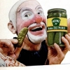 thumbs clown pickles 2 In the 1950s Heinz thought clowns would make pickles fun   they didnt (photos)