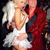 thumbs hef and holly madison Holly Madison trumps Ivy Blue with a baby called Rainbow Aurora 