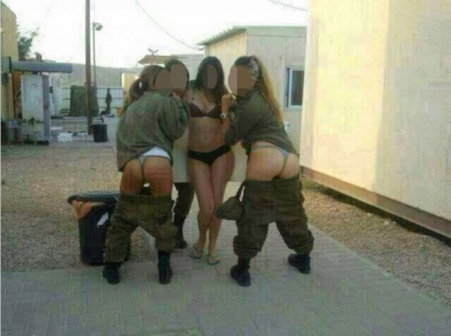 israel army 1 The Gaza Strip: Israeli soldiers post these racy photos on Facebook