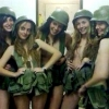 thumbs israel army 8 The Gaza Strip: Israeli soldiers post these racy photos on Facebook