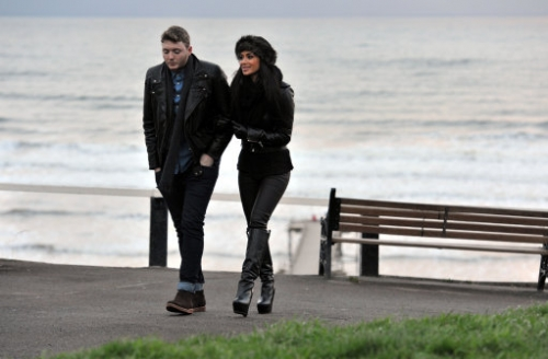 15306294 X Factor photos: James Arthur takes Nicole Scherzinger to Saltburn by the Sea