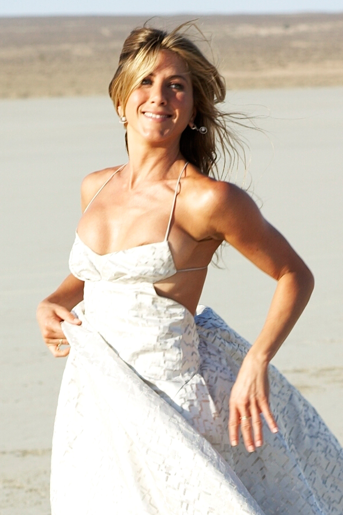 Jennifer Aniston Nipple Slip