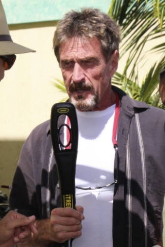 15224846 John McAfee: Vice magazine shopped and glorified man wanted in connection with murder of Gregory Faull