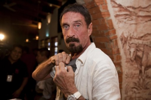 15307942 John McAfee: Vice magazine shopped and glorified man wanted in connection with murder of Gregory Faull