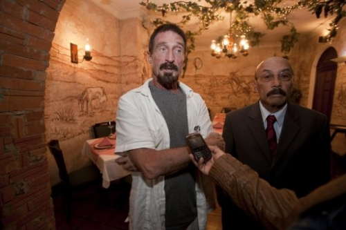 15308101 John McAfee: Vice magazine shopped and glorified man wanted in connection with murder of Gregory Faull