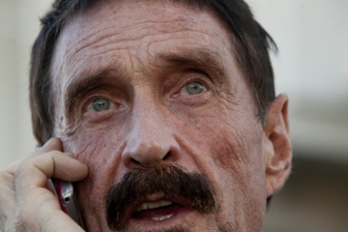 15308732 John McAfee: Vice magazine shopped and glorified man wanted in connection with murder of Gregory Faull