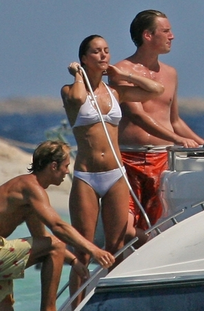 ... over body wise - how about the future queen of England in a bikini?
