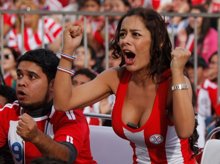 larissa riquelme Larissa Riquelme Is Paraguays Number 1 Fan: World Cup Photos (NSFW)
